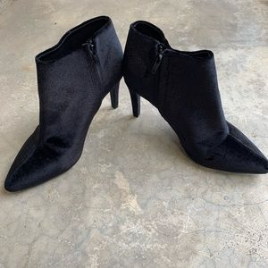 Old navy velvet booties